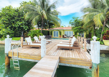 Cozy house close to the center of Miami Beach with Internet, Air conditioning, Pool