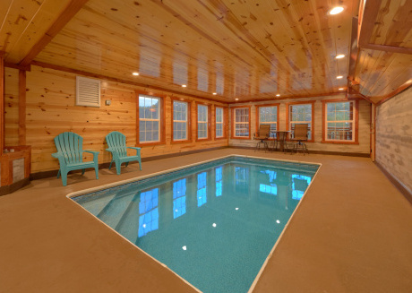 Private Indoor Pool and Theater Room Cabin