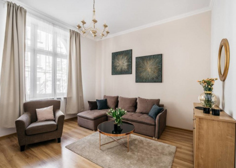Spacious apartment in the center of Kraków with Internet, Washing machine