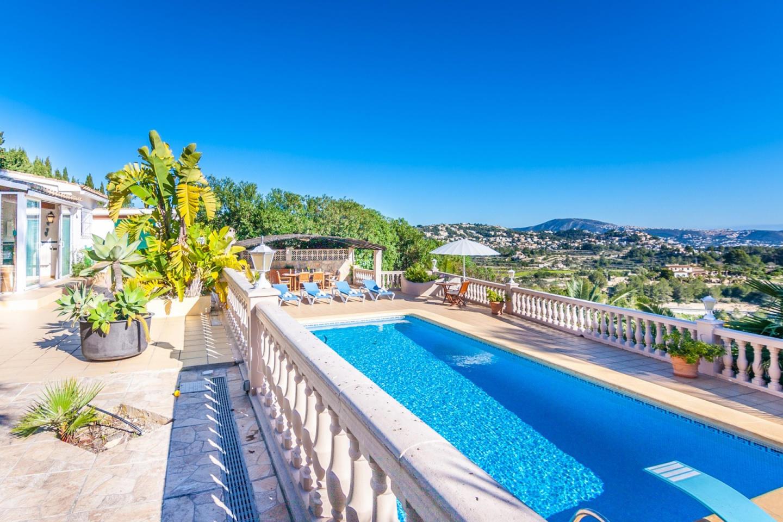 Cozy villa in Benissa with Parking, Internet, W... Slide-1