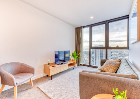 Cozy apartment in Southbank with Lift, Internet, Washing machine, Air conditioning
