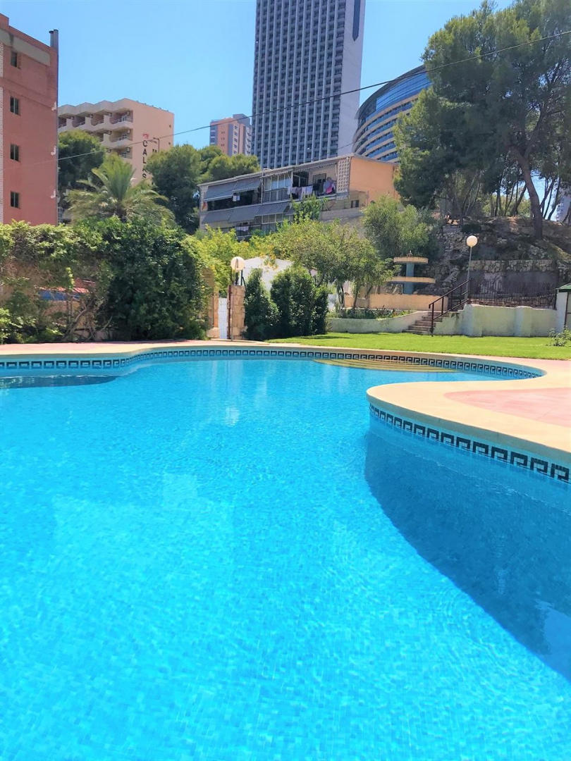 Spacious aparthotel in Benidorm with Lift, Park... Slide-3