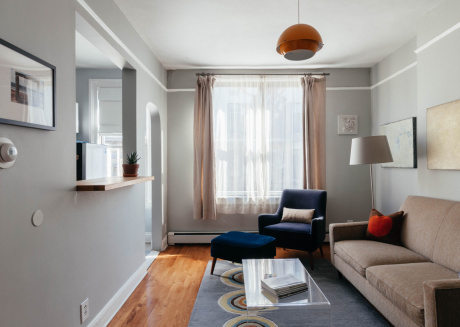 Spacious apartment in New York with Internet