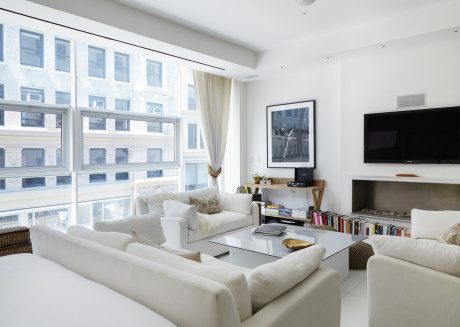 Spacious apartment in the center of New York with Lift, Internet, Washing machine, Air conditioning