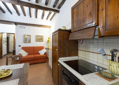 Cozy apartment in the center of Cortona with Internet, Washing machine