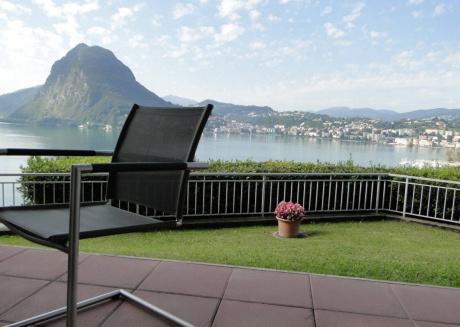 Lugano with Panorama