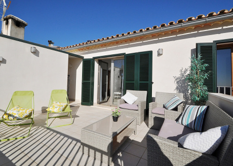 Cozy villa in the center of Búger with Internet, Washing machine, Air conditioning, Terrace