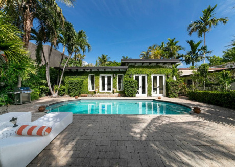 Cozy house close to the center of Miami Beach with Pool