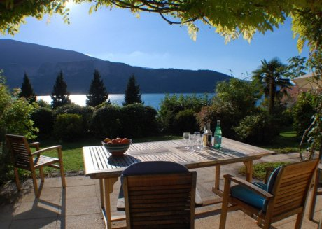 Talloires - Bucolique cottage rénové jolie Vue lac