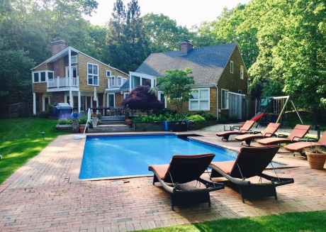 Cozy house in Water Mill with Internet, Air conditioning, Pool