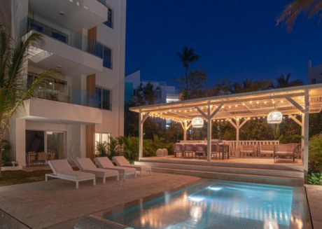 Spacious apartment in Punta Cana with Lift, Parking, Internet, Washing machine