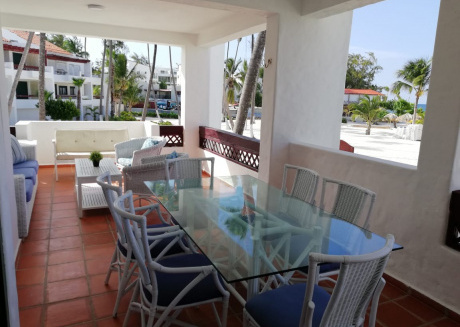Spacious apartment in Punta Cana with Parking, Pool, Balcony, Terrace