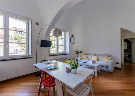 Spacious apartment in the center of Genoa with Internet, Washing machine, Air conditioning