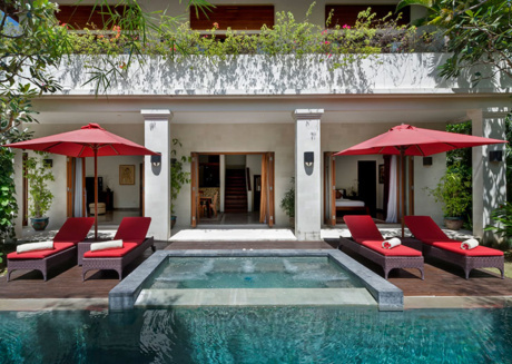 Picture Relaxing by your Private Pool in Your Beautiful Villa in Seminyak, Bali Villa 1100