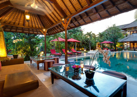 Picture Relaxing by your Private Pool in Your Beautiful Villa in Seminyak, Bali Villa 1080