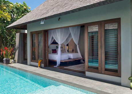 Picture Relaxing by your Private Pool in Your Beautiful Villa in Seminyak, Bali Villa 1092