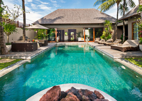 Picture Relaxing by your Private Pool in Your Beautiful Villa in Seminyak, Bali Villa 1091