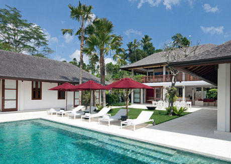 Picture Relaxing by your Private Pool in Your Beautiful Villa in Seseh, Bali Villa 1102