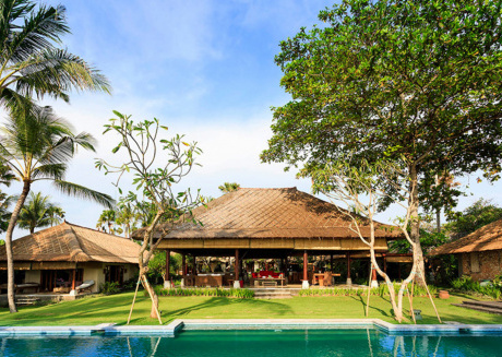 Picture Relaxing by your Private Pool in Your Beautiful Villa in Seseh-Tanah Lot, Bali Villa 1023