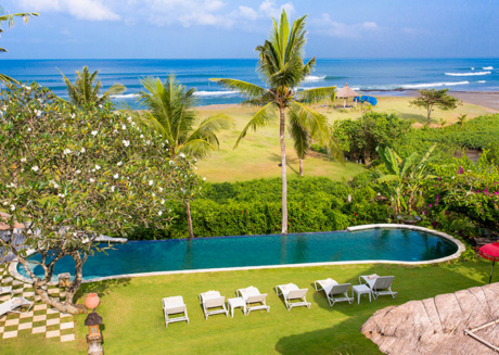 Picture Relaxing by your Private Pool in Your Beautiful Villa in Canggu, Bali Villa 1046