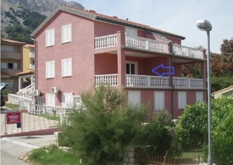 Cozy apartment very close to the centre of Baška with Parking, Internet, Air conditioning, Terrace