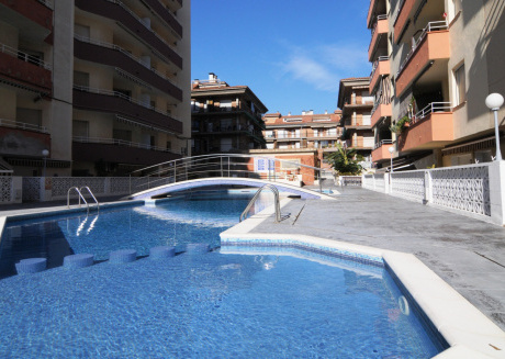 Cozy apartment in the center of Pineda de Mar with Lift, Internet, Washing machine, Air conditioning