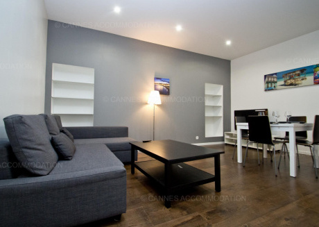 Cozy apartment in the center of Cannes with Internet, Washing machine