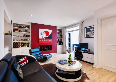 Spacious apartment in London with Internet, Garden