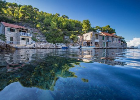 Cozy country house in Vis with Parking, Internet, Air conditioning, Terrace