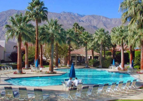 Cozy house in the center of Palm Springs with Air conditioning, Pool