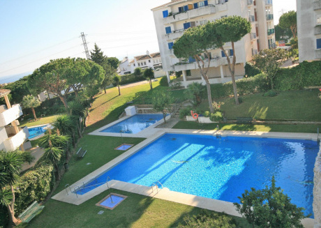 Cozy apartment in Mijas with Lift, Parking, Washing machine, Pool