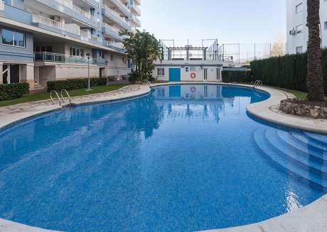 Spacious apartment very close to the centre of Grau i Platja with Lift, Parking, Washing machine, Air conditioning