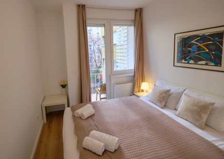 Spacious apartment in the center of Zagreb with Internet, Washing machine, Air conditioning, Balcony