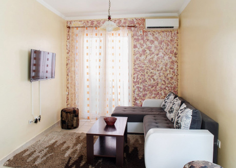Cozy apartment in the center of Budva with Internet, Washing machine, Air conditioning, Balcony