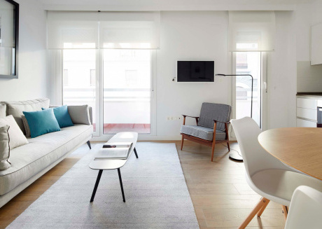Cozy apartment in the center of San Sebastián with Lift, Internet, Washing machine, Balcony