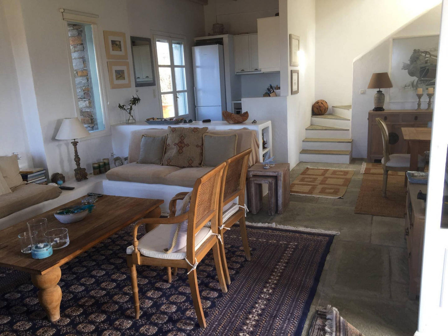 Spacious house in Ioulis with Internet, Washing... Slide-2