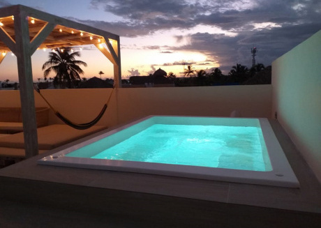 Spacious apartment in Punta Cana with Lift, Internet, Washing machine, Terrace