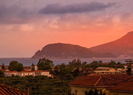 Spacious house in Zakinthos with Internet, Balcony, Garden, Terrace