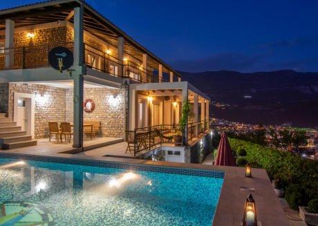 Luxury 5BR Villa Mogren with pool sea view +pkg