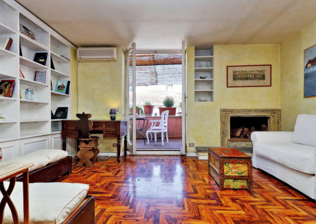 Cozy apartment in the center of Rome with Lift, Internet, Washing machine, Air conditioning