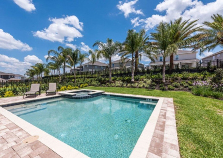 How to Rent Your Own Private Luxury Holiday Villa with Private Pool on Encore Resort at Reunion, Orlando Villa 1652
