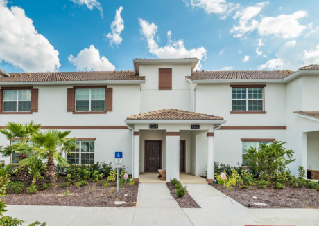 This Luxury 5 Star Townhome is located minutes from Disney World on Champions Gate Resort, Orlando House 1942