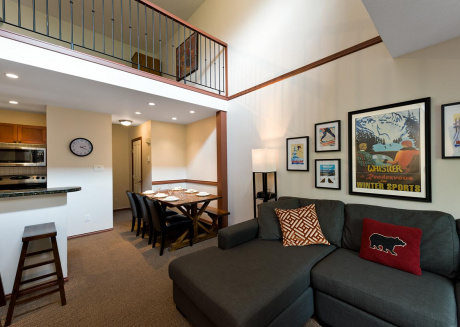 51 Glaciers Reach this 2br home has a hot tub & pool in Whistler Village
