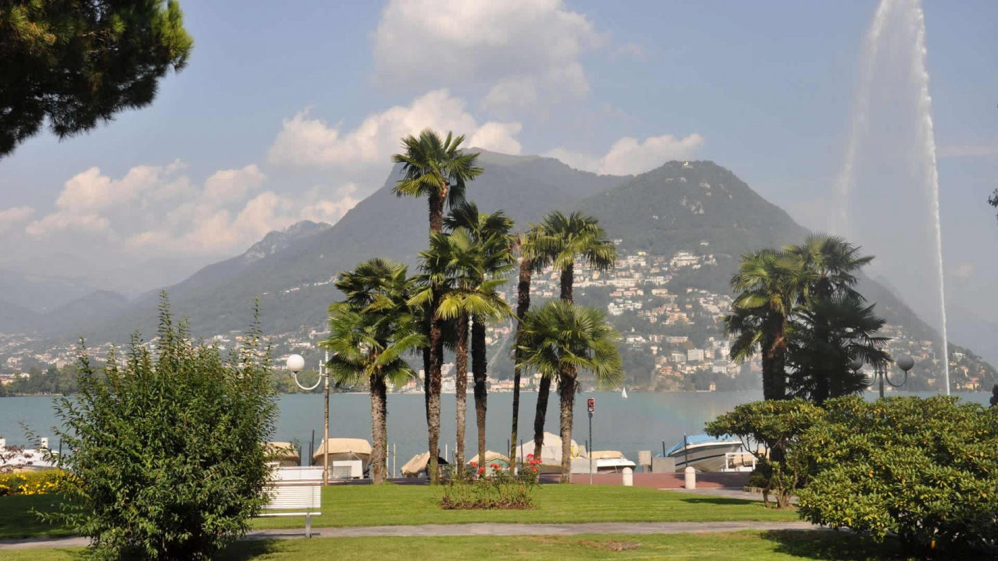 Lugano for four very well situated Slide-12