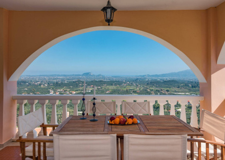 Villa Diana with amazing view