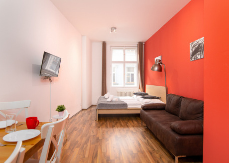 Soukenicka Apartcomplex Brown Leather CZPRSK59