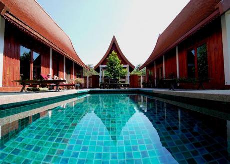 Thai style country villa, Private Pool, Full Board