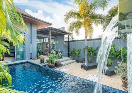 Onyx Lite 2 bedrooms modern villa with pool Phuket