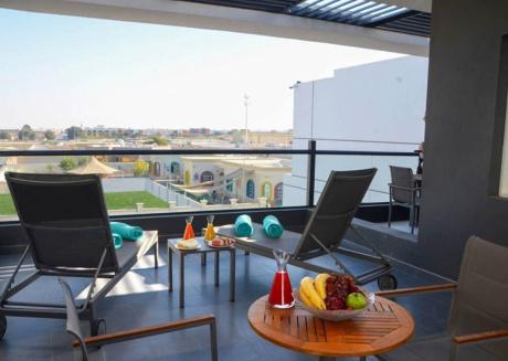 Have a wonderful vacation at Ras al Khamah wail staying in this 3 bedroom villa