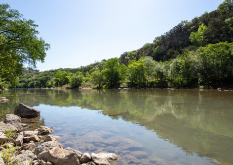 Brand New Listing! 2 GORGEOUS 3/2 condo's on the Guadalupe River! Sleeps 14!!